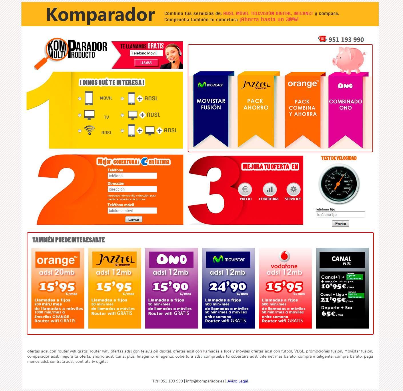 Komparador Telecomunicaciones