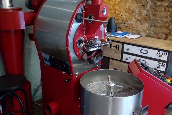 Proyecto de microstostadero de café en Málaga