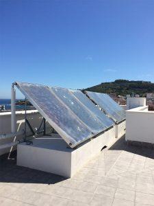 instalación energía solar térmica